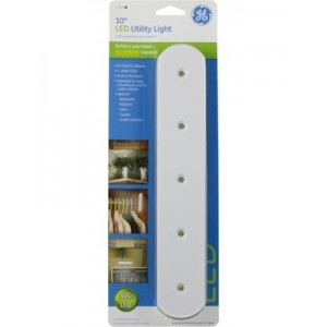 GE 17435 10 Inch LED Utility Light (Battery Operated)