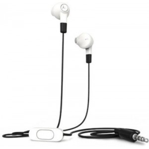 Earbuds In-Ear Stereo Headset White