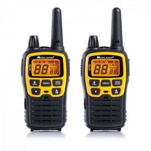 XT70 Adventure Edition Midland Dual Band PMR Walkie Talkie (12KM Range)