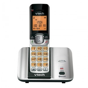 CS6519A Space Silver MobileConnect 2-in-1 Digital Cordless Phone