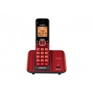 CS6519A Ruby Red MobileConnect 2-in-1 Digital Cordless Phone