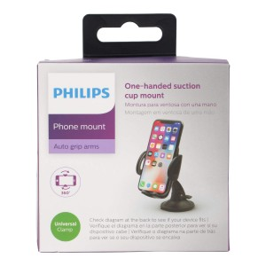 Philips One-Handed Suction Cup Mount