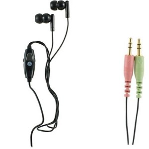 GE VOIP In-Ear PC Stereo Headset