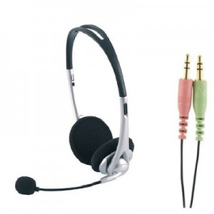 GE VOIP PC Stereo Headset