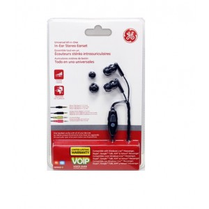 GE Universal All-in-One In-Ear Stereo Earset