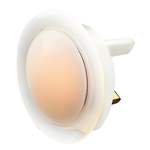 GL1/2 Masterplug Home Soft Glow Night Light Twin Pack