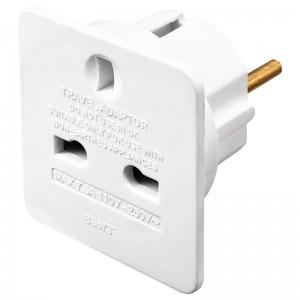 TAEUR Masterplug Travel Adaptors (UK to Europe) Single Pack