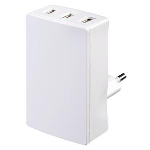 TAUSBEUPLG Masterplug Travel European 3.4A USB Charging Plug
