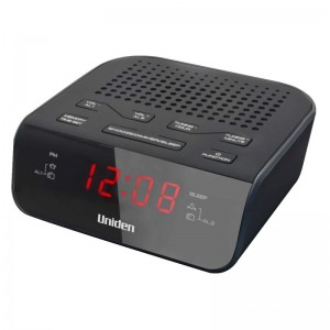 AR1302 Black Uniden Alarm Clock Radio