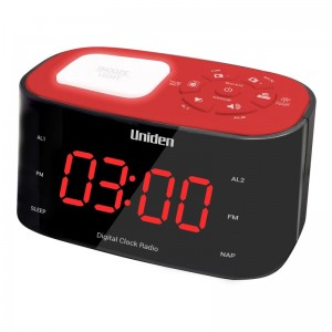 AR1303 Red Uniden Alarm Clock Radio