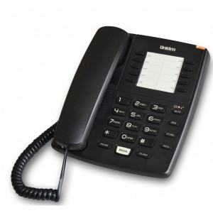 AS7201 Black Executive Series 10 directory memory Hotel platform Message Waiting Lamp Corded Phone