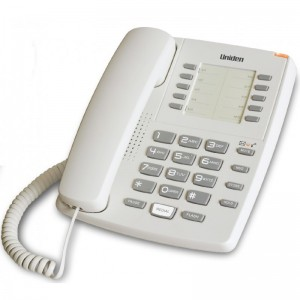 AS7202 White Basic Desktop Phone