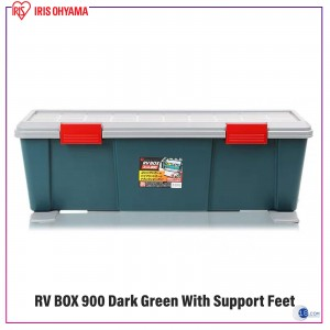 Iris Ohyama Japan Car RV Box,Container Box - RV Box 900-45L with Support Feet