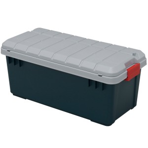 Iris Ohyama Japan Car RVBOX,Dark Green Container Box -RV Box 800-60L