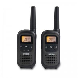 PMR1208-2 Uniden PMR Walkie Talkie 8 Channel VOX / CTCSS Micro USB Charging (10KM Range)