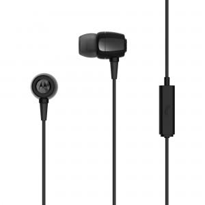 Earbuds Metal In-Ear Wired Headphones Black