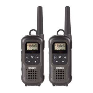 PMR1210-2 Uniden IPX7 Waterproof 2-Way Radios (10KM Range)